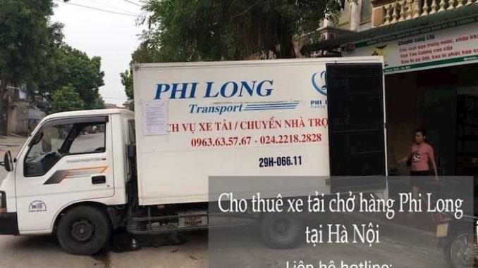 Xe tải chở hàng thuê tại phường Cửa Nam