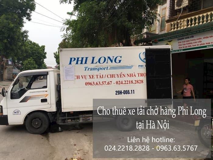 Xe tải chở hàng thuê tại phố Nguyễn Cảnh Dị