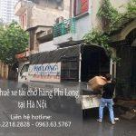 Xe tải chở hàng thuê tại phố Trần Nguyên Đán