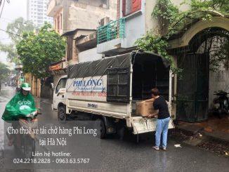 Xe tải chở hàng thuê tại phường Quán Thánh