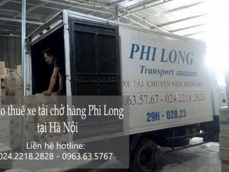 Xe tải chở hàng thuê tại phường Hàng Bông