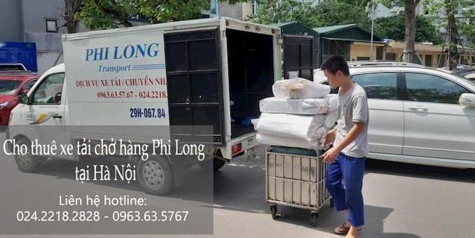 Xe tải chở hàng thuê tại phố Tam Khương