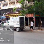 Xe tải chở hàng thuê tại phố Đặng Trần Côn