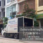 Xe tải chở hàng chuyên nghiệp Phi Long tại phố Châu Văn Liêm