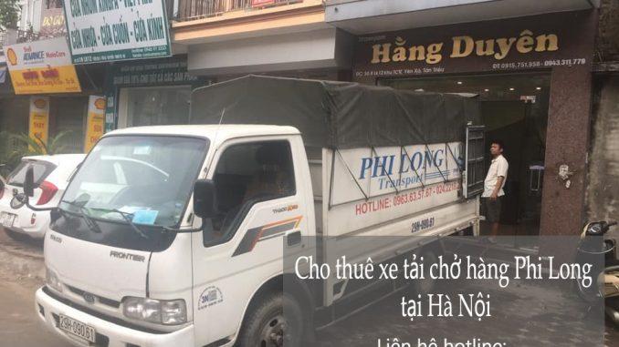 Dịch vụ xe tải chở hàng Phi Long tại phố Cao Xuân Huy