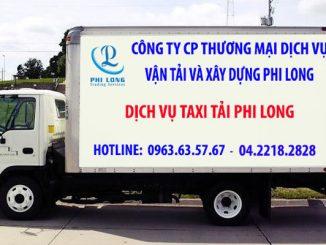 Vân tải chở hàng thuê Phi Long tại phố Đông Ngạc