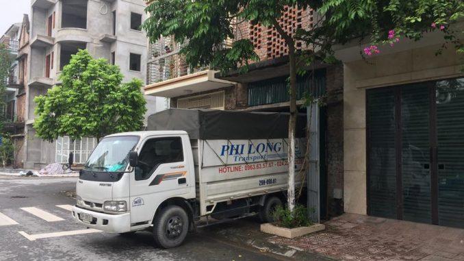 Xe tải chở hàng thuê tại phường Láng Hạ