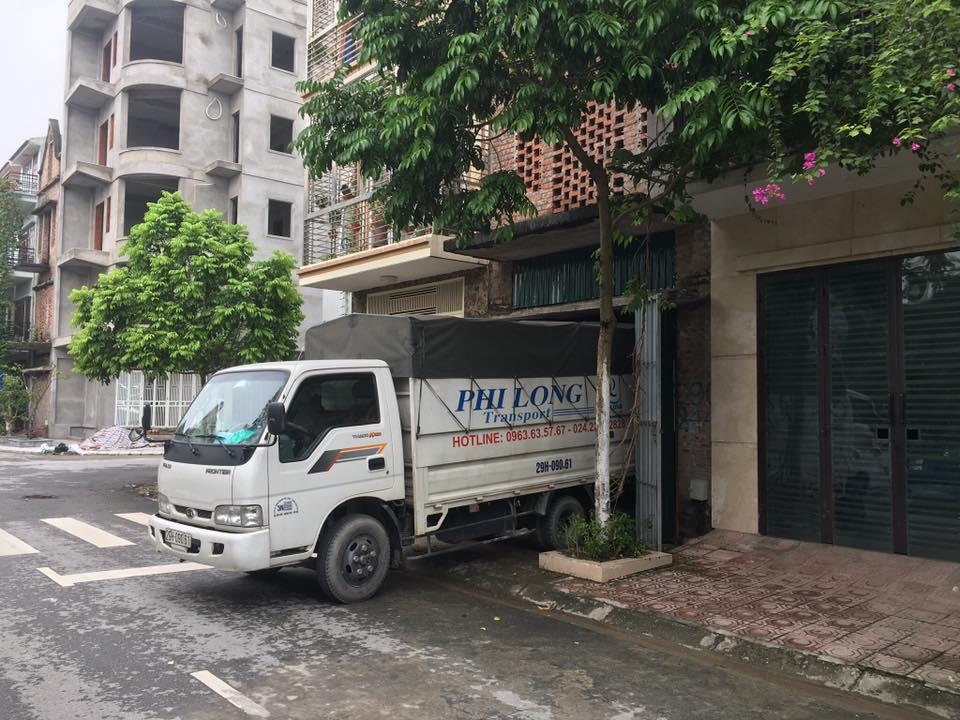Xe tải chở hàng thuê tại phường Hoàng Văn Thụ