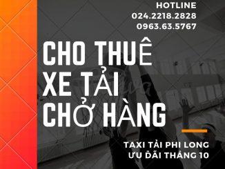 Xe tải chở hàng giá rẻ Phi Long tại phố Kim Giang