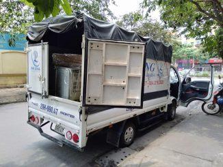 Xe tải chở hàng thuê tại phường Thụy Khuê