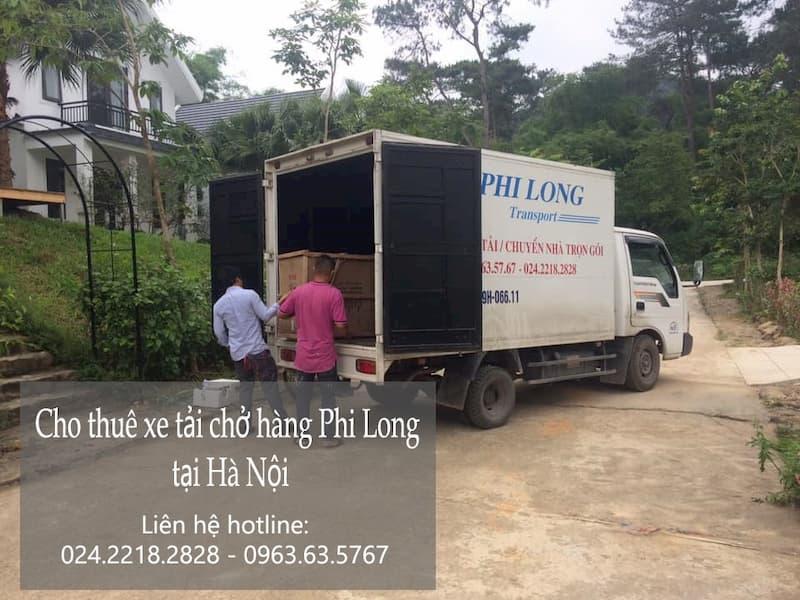 Xe tải chở hàng thuê Phi Long tại phố Kiêu Kỵ
