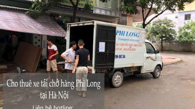 Xe tải chở hàng thuê tại phường Thụy Phương
