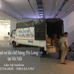 Xe tải chở hàng giá tết Phi Long phố Khúc Hạo