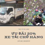 Dịch vụ vận chuyển hàng Tết tại xã Xuân Canh