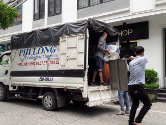 Xe tải chở hàng thuê tại xã Phúc Lâm