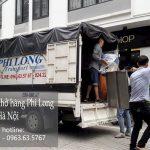 Xe tải chở hàng thuê Phi Long tại xã Phùng Xá