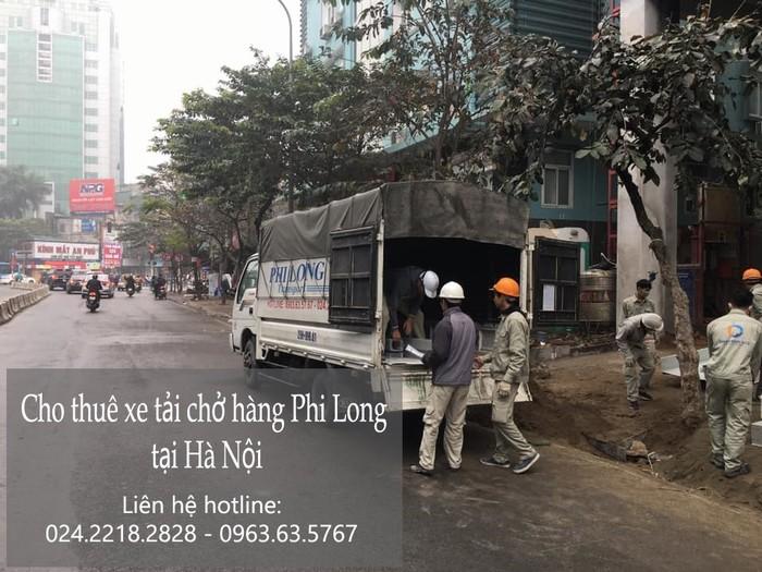 Xe tải chở hàng thuê tại xã Thượng Lâm