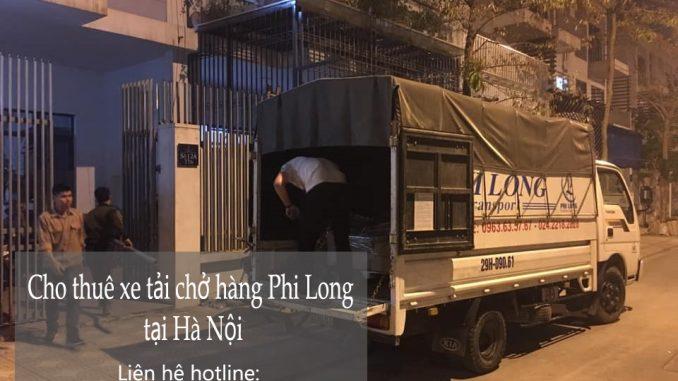 Xe tải chở hàng thuê Phi Long tại xã Liên Hà