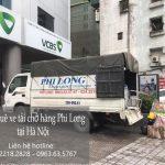 Xe tải chở hàng thuê Phi Long tại xã Hạ Mỗ