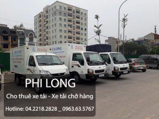 Xe tải chở hàng thuê Phi Long tại quận Thanh Xuân