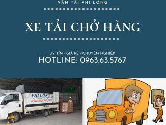 Dịch vụ chở hàng thuê Phi Long tại xã Tri Trung