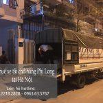 Xe tải chở hàng thuê Phi Long tại đường Phú Đô
