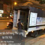 Xe tải chở hàng thuê Phi Long tại đường Cương Kiên