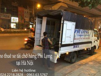 Xe tải chở hàng thuê Phi Long tại xã Bình Phú