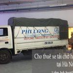 Xe tải chở hàng thuê Phi Long tại xã Vân Từ