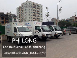 Xe tải chở hàng thuê tại phường giang biên