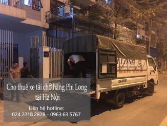 Xe tải chở hàng thuê Phi Long tại đường Hữu Hưng