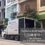 Xe tải chở hàng thuê Phi Long tại đường Triều Khúc