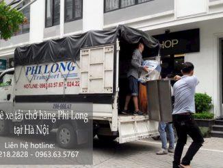 Xe tải chở hàng thuê Phi Long tại đường Nguyễn Trãi