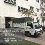 Xe tải chở hàng thuê Phi Long tại phố Yên Lạc