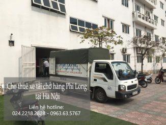 Xe tải chở hàng thuê Phi Long tại xã Lại thượng