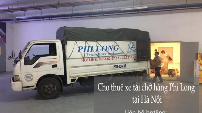 Xe tải chở hàng thuê Phi Long tại đường Phú Xá