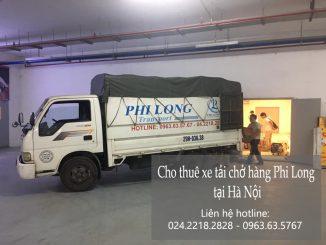 Xe tải chở hàng thuê tại đường Trần Duy Hưng