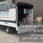 Xe tải chở hàng thuê Phi long tại phố Nhân Hòa