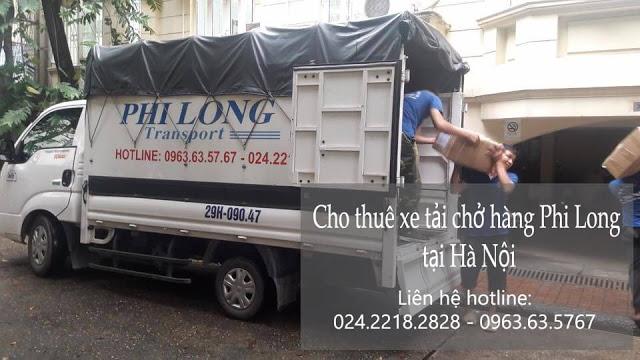 Xe tải chở hàng thuê Phi Long tại đường dương văn bé
