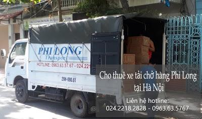 Xe tải chở hàng thuê Phi Long tại đường Tương Mai