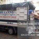 Xe tải chở hàng thuê Phi long tại đường Quảng Bá