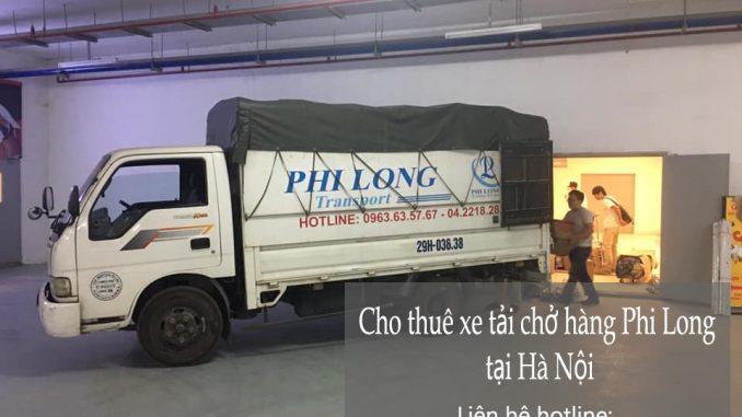 Xe tải chở hàng thuê tại đường cầu bây