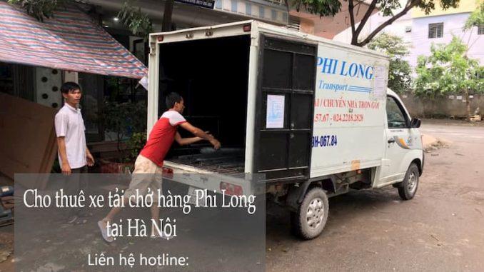 Xe tải chở hàng thuê tại đường hoàng như tiếp