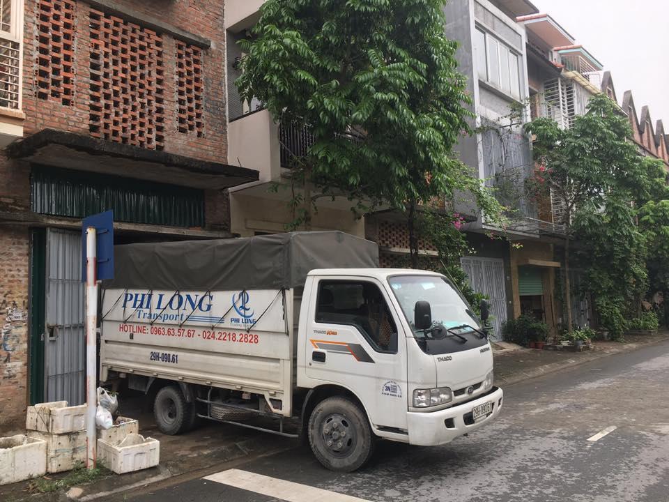 xe tải chở hàng thuê tại đường hồng tiến
