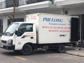 thuê xe tải 5 tạ chở hàng hà nội
