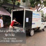 Xe tải chở hàng thuê Phi long tại đường Phú Minh