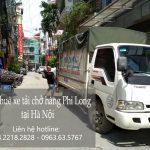 thuê xe chở hàng 5 tạ phi long tại đường ngọc trì
