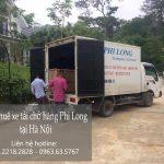 Xe chở hàng Phi Long tại quận Long Biên