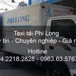 Xe tải chở hàng thuê tại phố Tương Mai