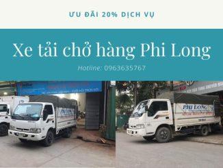 Xe tải vận chuyển phố Hàng Đậu đi Quảng Ninh
